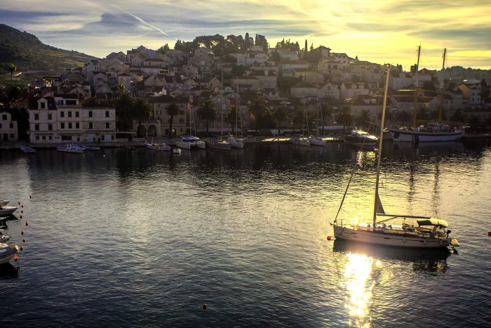 Sunrise in Hvar