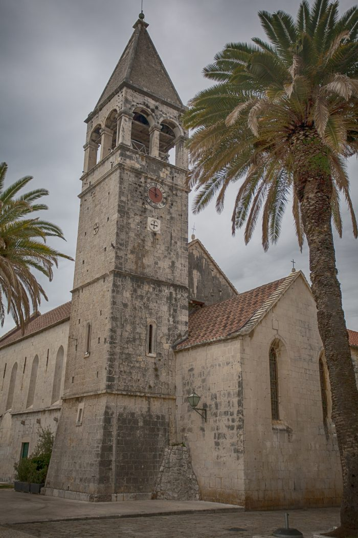 St. Dominic Monastery in Old Town Trogir