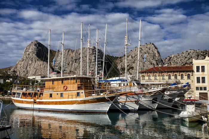 Saily boats