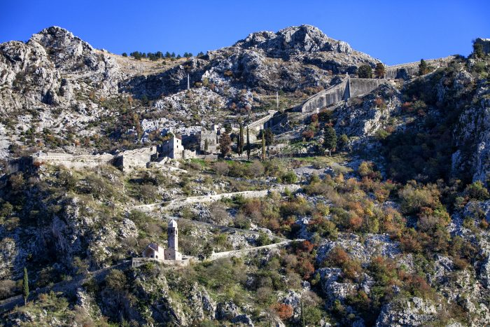 Fortress behind Kotor