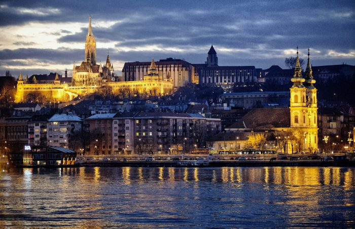 Buda seen from Pest