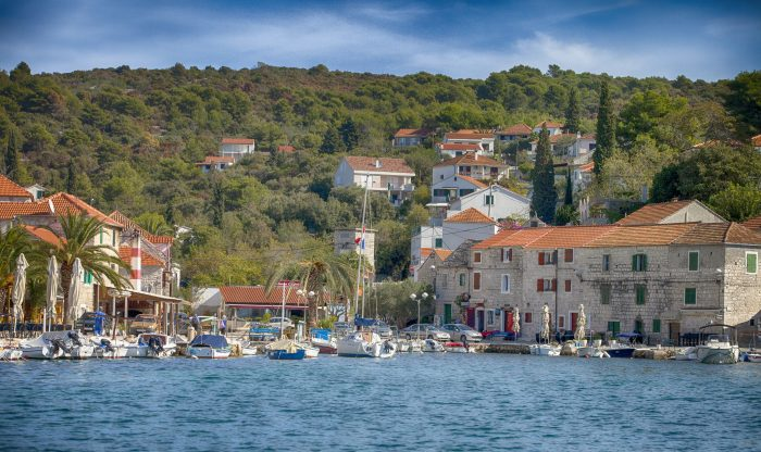 Solta Island-Masclinica port